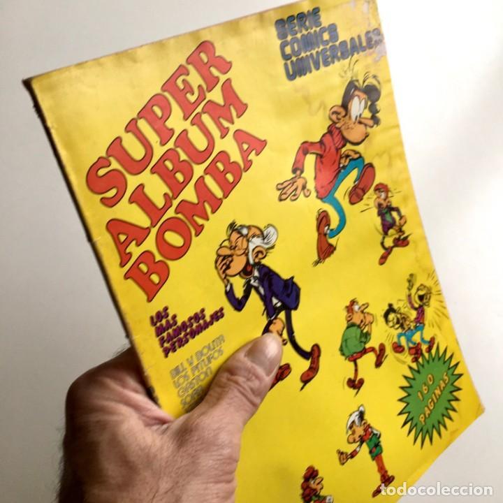 REVISTA DE CÓMICS SUPER ALBUM BOMBA RECOPILATORIO DE SPIROU ARDILLA, Nº 7, AÑO 1979 (Tebeos y Comics - Grijalbo - Spirou)