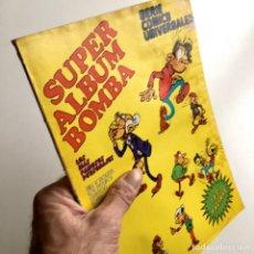 Comics : REVISTA DE CÓMICS SUPER ALBUM BOMBA RECOPILATORIO DE SPIROU ARDILLA, Nº 7, AÑO 1979. Lote 189383000