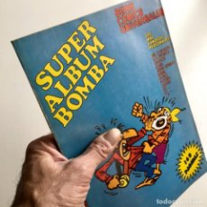 Comics : REVISTA DE CÓMICS SUPER ALBUM BOMBA RECOPILATORIO DE SPIROU ARDILLA, Nº 8, AÑO 1979. Lote 189383095