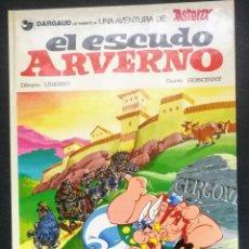 Cómics: ANTIGUO ASTERIX - EL ESCUDO ALVERNO - UDERZO GOSCINNY - GRIJALBO DARGAUD - EN PERFECTO ESTADO - . Lote 189501663