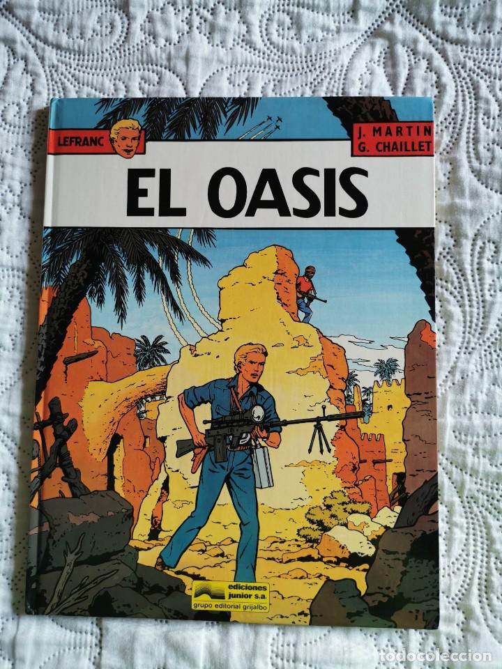 LEFRANC - EL OASIS N. 7 (Tebeos y Comics - Grijalbo - Lefranc)