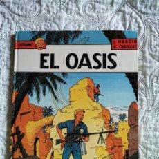 Cómics: LEFRANC - EL OASIS N. 7. Lote 189611050