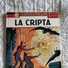 Cómics: LEFRANC - LA CRIPTA N. 9. Lote 189611115