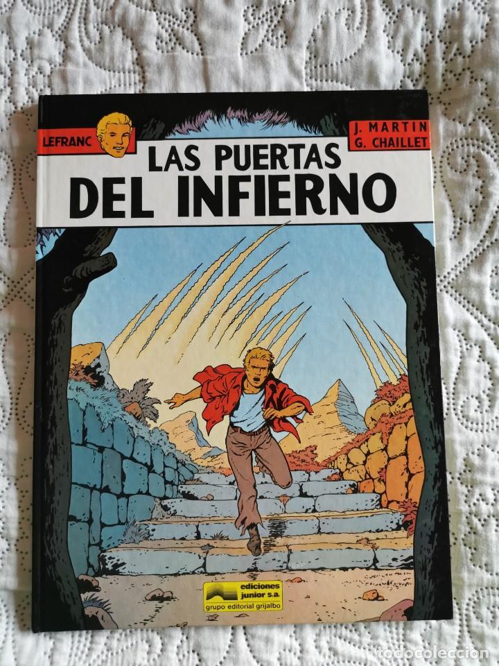 LEFRANC - LAS PUERTAS DEL INFIERNO N. 5 (Tebeos y Comics - Grijalbo - Lefranc)