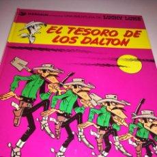 Cómics: LUCKY LUKE 19 EL TESORO DE LOS DALTON ( MORRIS ) TAPA DURA GRIJALBO REF. UR EST. Lote 189677612
