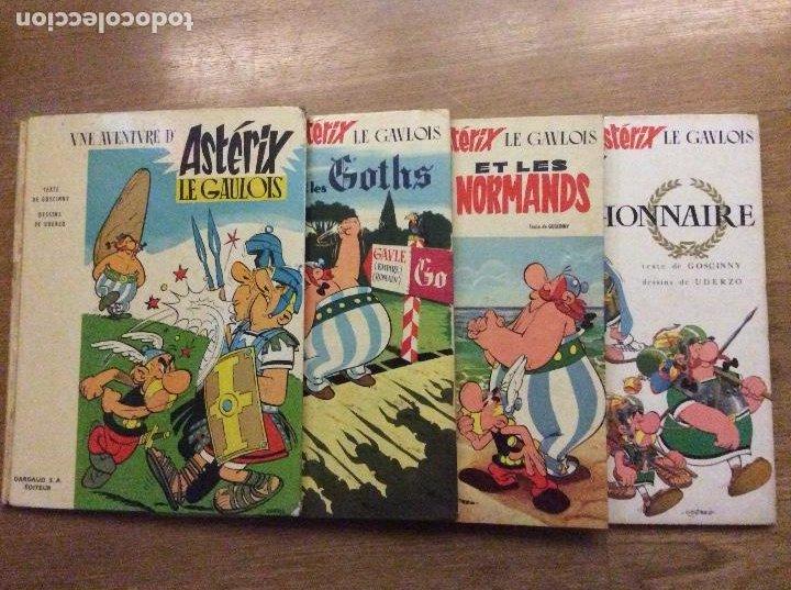 LOTE DE 4 PRIMERAS EDICIONES DE ASTERIX EN FRANCÉS ASTERIX LE GAULOIS GOTHS NORMANDS LEGIONNAIRE (Tebeos y Comics - Grijalbo - Asterix)