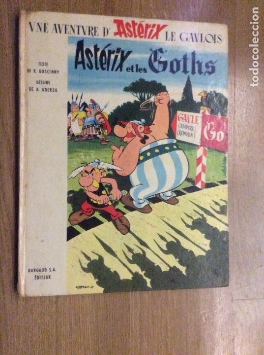 Cómics: Lote de 4 primeras ediciones de Asterix en francés Asterix Le Gaulois Goths Normands Legionnaire - Foto 5 - 190023086