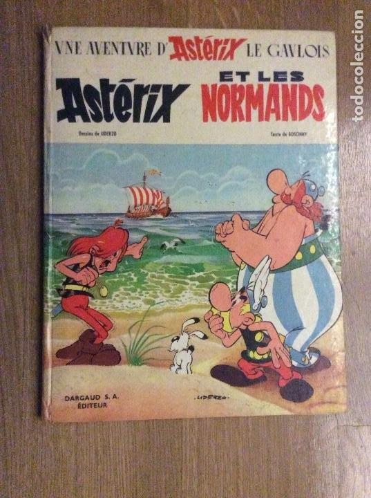 Cómics: Lote de 4 primeras ediciones de Asterix en francés Asterix Le Gaulois Goths Normands Legionnaire - Foto 7 - 190023086