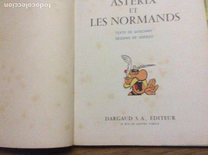 Cómics: Lote de 4 primeras ediciones de Asterix en francés Asterix Le Gaulois Goths Normands Legionnaire - Foto 8 - 190023086