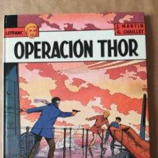 Cómics: LEFRANC Nº 6 OPERACIÓN THOR - JACQUES MARTIN - GRIJALBO EDICIONES JUNIOR. Lote 190038557