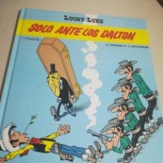 Cómics: LUCKY LUKE Nº 55 SOLO ANTE LOS DALTON. GRIJALBO JUNIOR 1995. MUY DIFÍCIL. REF. UR EST. Lote 190049791