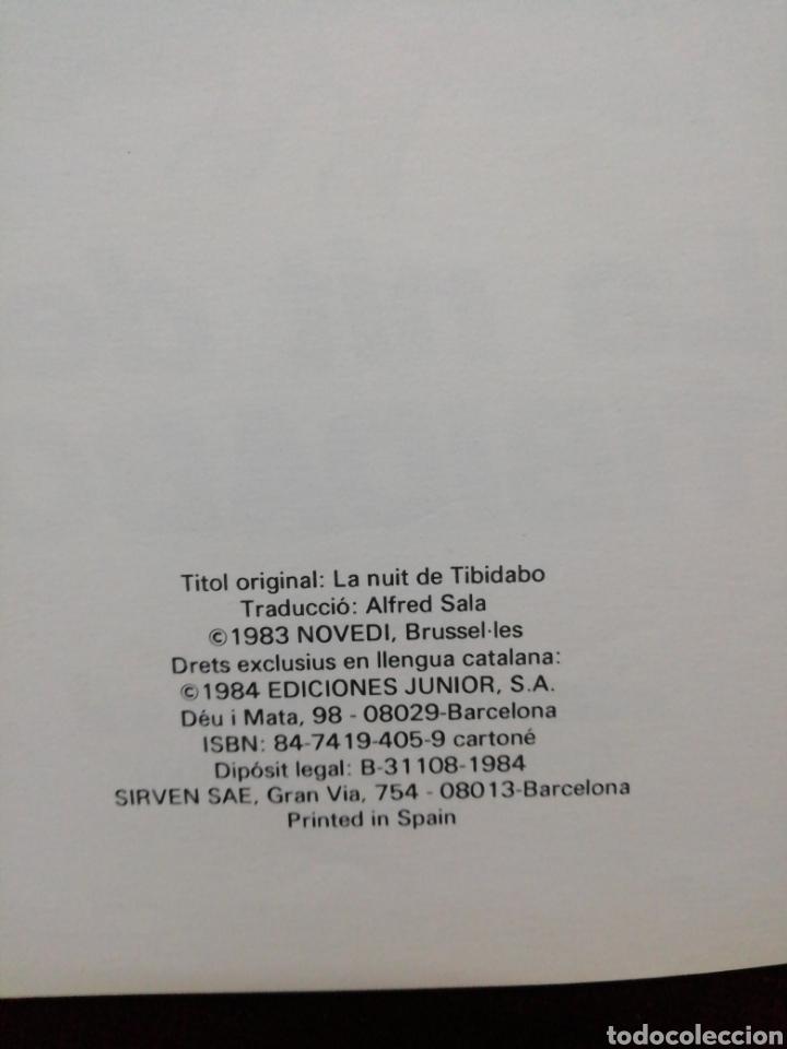 Cómics: Eric Castel. La nit del Tibidabo. Año 1984. Editorial Grijalbo - Foto 2 - 190348622