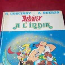 Cómics: ASTERIX A L'INDIA. AÑO 1987. EDITORIAL GRIJALBO. Lote 190349736