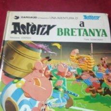 Cómics: ASTERIX A BRETANYA. AÑO 1987. EDITORIAL GRIJALBO. Lote 190349905