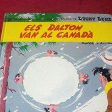 Cómics: ELS DALTON VAN AL CANADÀ. AÑO 1971. EDITORIAL GRIJALBO. Lote 190350116
