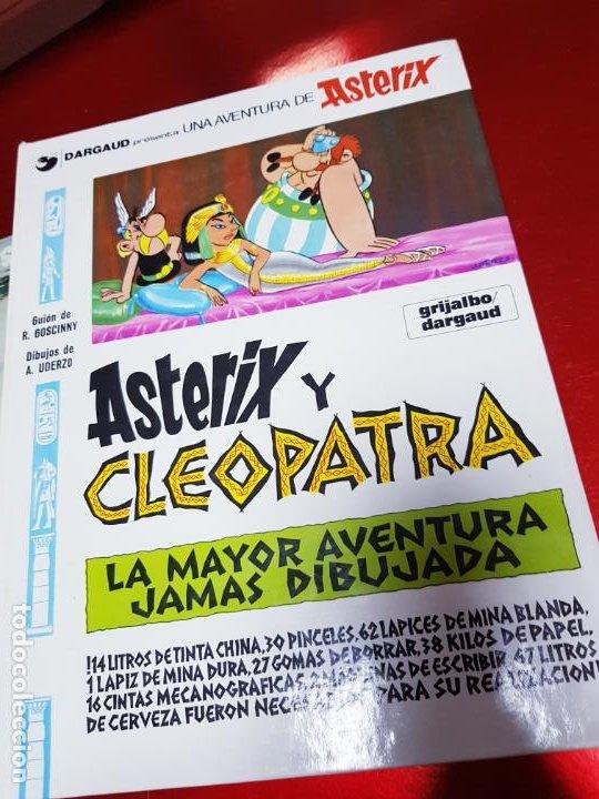 Cómics: COMIC-ASTERIX Y CLEOPATRA-LA MAYOR AVENTURA JAMÁS DIBUJADA-DARGAUD/GOSCINNY/UDERZO-1981-BUEN ESTADO - Foto 2 - 190486398