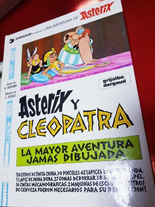 Cómics: COMIC-ASTERIX Y CLEOPATRA-LA MAYOR AVENTURA JAMÁS DIBUJADA-DARGAUD/GOSCINNY/UDERZO-1981-BUEN ESTADO - Foto 3 - 190486398