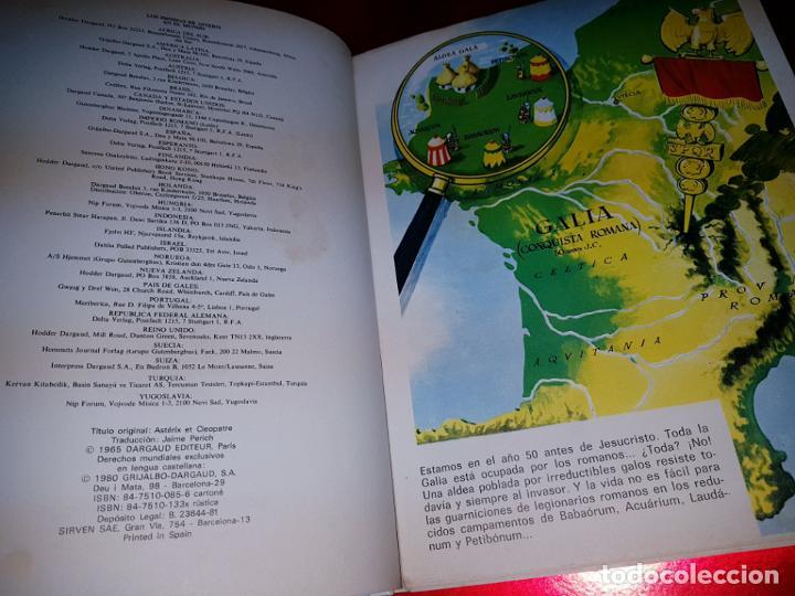 Cómics: COMIC-ASTERIX Y CLEOPATRA-LA MAYOR AVENTURA JAMÁS DIBUJADA-DARGAUD/GOSCINNY/UDERZO-1981-BUEN ESTADO - Foto 11 - 190486398