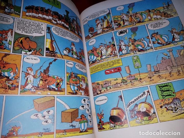 Cómics: COMIC-ASTERIX Y CLEOPATRA-LA MAYOR AVENTURA JAMÁS DIBUJADA-DARGAUD/GOSCINNY/UDERZO-1981-BUEN ESTADO - Foto 13 - 190486398