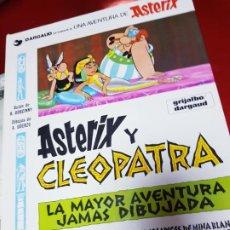 Cómics: COMIC-ASTERIX Y CLEOPATRA-LA MAYOR AVENTURA JAMÁS DIBUJADA-DARGAUD/GOSCINNY/UDERZO-1981-BUEN ESTADO. Lote 190486398
