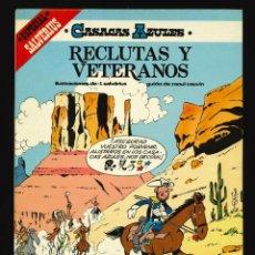 Cómics: CASACAS AZULES - EDICIONES JUNIOR (GRIJALBO) / NÚMERO 4 - RECLUTAS Y VETERANOS. Lote 190539520