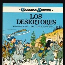 Cómics: CASACAS AZULES - EDICIONES JUNIOR (GRIJALBO) / NÚMERO 5 - LOS DESERTORES. Lote 190539662