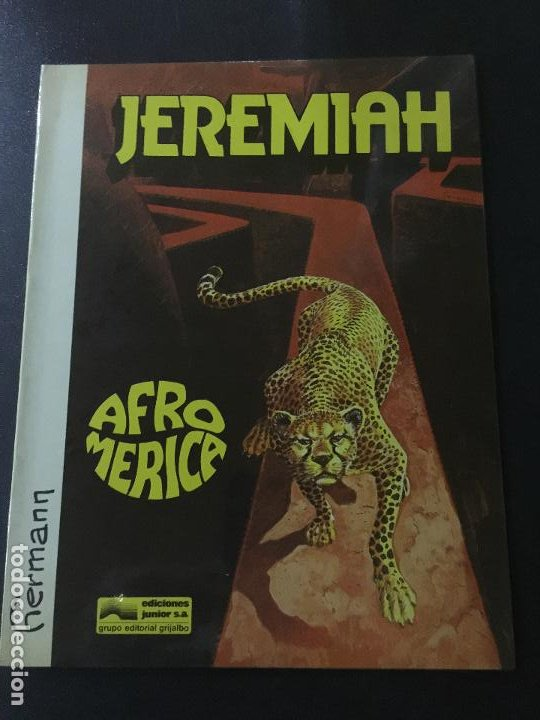GRIJALBO JEREMIAH NUMERO 7 BUEN ESTADO TAPA BLANDA (Tebeos y Comics - Grijalbo - Jeremiah)