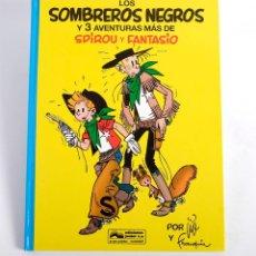 Cómics: LOS SOMBREROS NEGROS Y 3 AVENTURAS MÁS DE SPIROU Y FANTASIO Nº 31 EDICIONES JUNIOR 1994 TAPA DURA. N. Lote 191106836