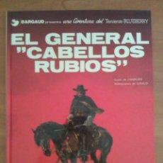 Cómics: TENIENTE BLUEBERRY : LOTE DE LOS DIEZ PRIMEROS NÚMEROS. Lote 191126287