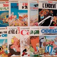 Cómics: ASTERIX, LOTE 10 COMICS TAPA DURA AÑOS 80. Lote 191198026