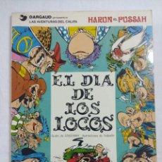Cómics: EL DIA DE LOS LOCOS-IZNOGUD/Nº2 GRIJALBO.. Lote 191205785