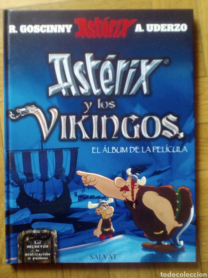 ASTÉRIX Y LOS VIKINGOS. EL ÁLBUM DE LA PELÍCULA. MUY DIFÍCIL DE CONSEGUIR (Tebeos y Comics - Grijalbo - Asterix)