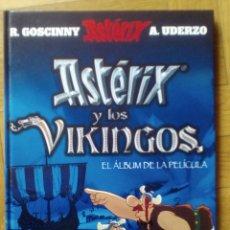 Cómics: ASTÉRIX Y LOS VIKINGOS. EL ÁLBUM DE LA PELÍCULA. MUY DIFÍCIL DE CONSEGUIR. Lote 191246477