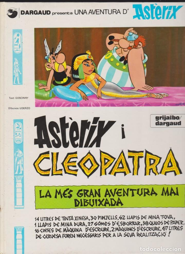 ASTÈRIX I CLEOPATRA --- LA MÉS GRAN AVENTURA MAI DIBUIXADA (Tebeos y Comics - Grijalbo - Asterix)