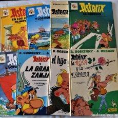 Cómics: ASTERIX Nº 5, 8,19, 22, 25, 27 Y 29 -GUION DE GOSCINNY, ILUSTRACIÓN DE UDERZO. Lote 191347585