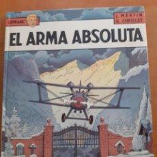 Cómics: LEFRANC. GRIJALBO. EL ARMA ABSOLUTA.. Lote 191448110