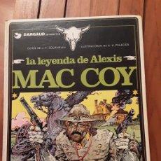 Cómics: LA LEYENDA DE ALEXIS MAC COY Nº 1 - AÑO 1981.. Lote 191561325