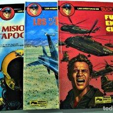 Comics : LAS AVENTURAS DE BUCK DANNY Nº 41, 42, 43 Y 44 - POR J.M. CHARLIER Y FRANCIS BERGÈSE - ED GRIJALDO. Lote 191588816
