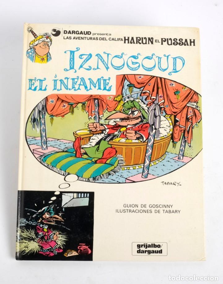 HARUN EL PUSSAH Nº 7. IZNOGOUD EL INFAME. GRIJALBO/DARGAUD. 1981 (Tebeos y Comics - Grijalbo - Iznogoud)