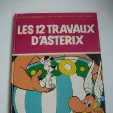 Cómics: ASTERIX. LES 12 TRAVAUX DÁSTERIX. TAPAS DURAS. PRIMERA EDICIÓN 1976. COLECCIONISTAS. IMPECABLE. Lote 191667132