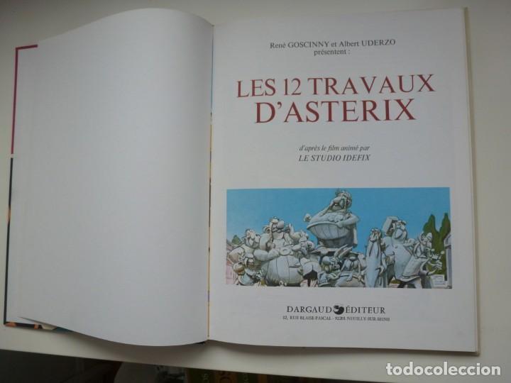 Cómics: ASTERIX. LES 12 TRAVAUX DÁSTERIX. TAPAS DURAS. PRIMERA EDICIÓN 1976. COLECCIONISTAS. IMPECABLE - Foto 3 - 191667132