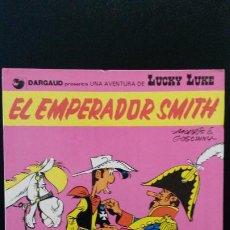 Cómics: EL EMPERADOR SMITH. LUCKY LUKE. MORRIS E. GOSCINNY. GRIJALBO 1976.. Lote 191706131