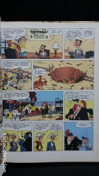Cómics: NITROGLICERINA. LUCKY LUKE. MORRIS & LO HARTOG VAN BANDA. GRIJALBO 1987. - Foto 5 - 191709302