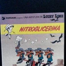 Cómics: NITROGLICERINA. LUCKY LUKE. MORRIS & LO HARTOG VAN BANDA. GRIJALBO 1987.. Lote 191709302