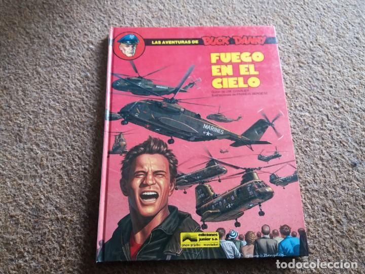 FUEGO EN EL CIELO. BUCK DANNY. JUNIOR GRIJALBO. N° 43. BUEN ESTADO. 1986. (Tebeos y Comics - Grijalbo - Buck Danny)