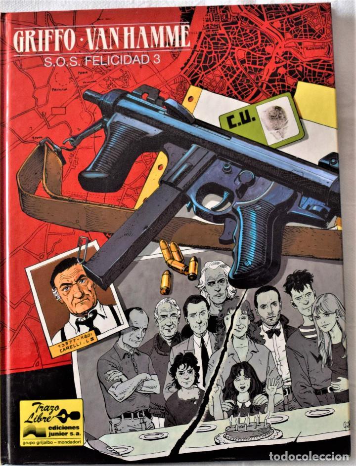 GRIFFO - VAN HAMME Nº 5 - EDICIONES JUNIOR - GRUPO GRIJALBO - MONDADORI - EDICIÓN 1992 - TAPA DURA (Tebeos y Comics - Grijalbo - Otros)