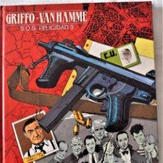 Cómics: GRIFFO - VAN HAMME Nº 5 - EDICIONES JUNIOR - GRUPO GRIJALBO - MONDADORI - EDICIÓN 1992 - TAPA DURA. Lote 191864268