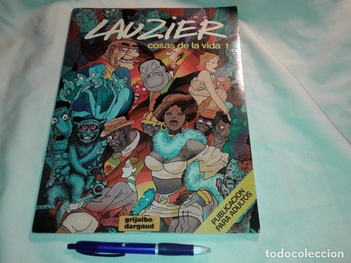 COSAS DE LA VIDA 1. LAUZIER (Tebeos y Comics - Grijalbo - Otros)