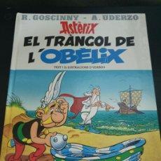 Cómics: ASTERIX: EL TRIANGOL DE L´OBELIX. R. GOSCINNY - A. UDERZO. TEBEO. COMICS. EN CATALAN. PLANETA 1996.. Lote 192234656
