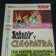 Cómics: ASTERIX Y CLEOPATRA: LA MAYOR HISTORIA JAMAS DIBUJADA. PILOTE. R. GOSCINNY - A UDERZO. BRUGUERA 1969. Lote 192234937